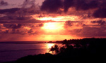Watch the sunrise over the pristine coastline of Turtle Bay on the northern