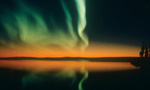 Aurora Borealis is a natural light display caused by the collision of energetic charged particles with atoms in high altitude atmospheres. Experience the beauty of this scientific phenomenon, and let us know if you catch an amazing burst of light.