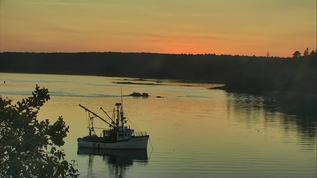 Another Gorgeous Sunset on Hog Island, Maine
