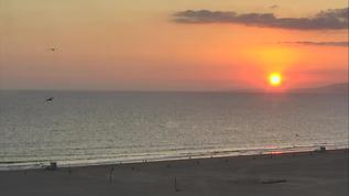 9-20-17  Sunset in Santa Monica, CA.