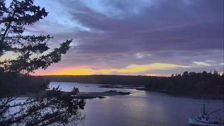Hog Island, Maine have sunsets that just keep giving! ;-)