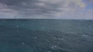 Rowdy ocean