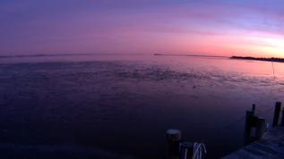 Good Saturday evening sunset