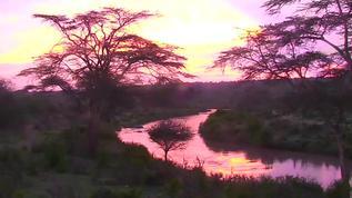 Sunrise on a Kenyan River