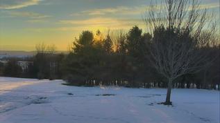 7pm Sun nearly gone.