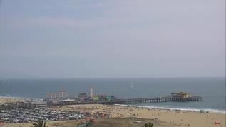 A busy day at the beach.  340pm