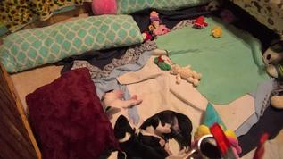 Only see three;  there in a pile/11  LOL   So cute