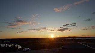end of summer sunset